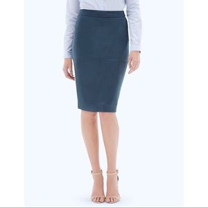 The Limited Faux Suede Pencil Skirt